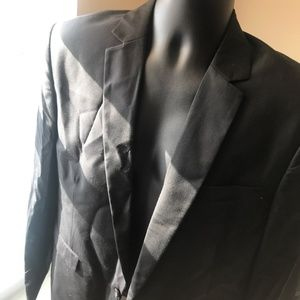 Suits & Blazers - Fashion Slim Fit Black Wool Suit New M